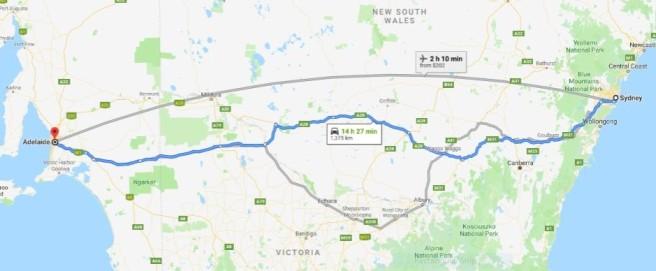 Thom Sullivan Sydney to Adelaide